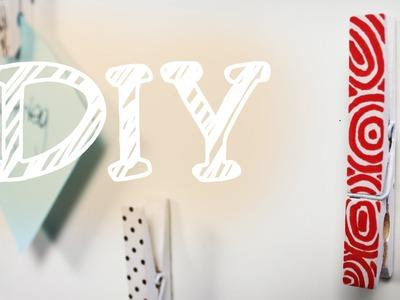 |Tipps&Tricks| Memo-Wand aus Klammern - super mega leichtes D.I.Y.