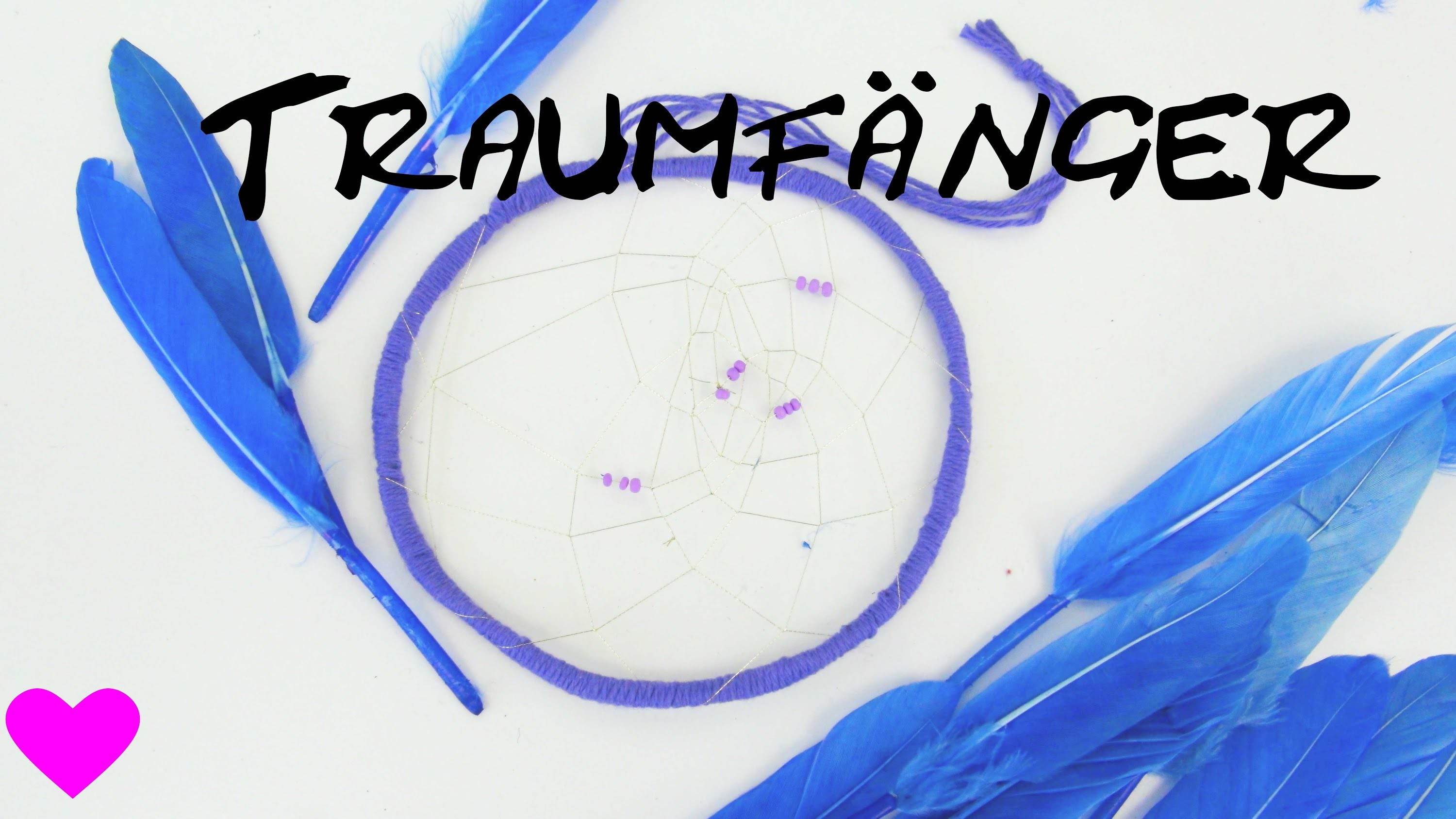 Traumfänger basteln Bastelanleitung. How to make a Dreamcatcher atrapasueños Tutorial