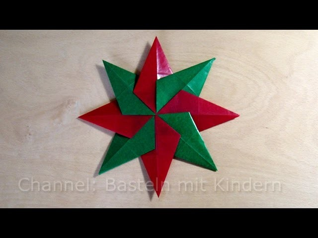 weihnachtssterne basteln einfachen stern f r weihnachten. Black Bedroom Furniture Sets. Home Design Ideas