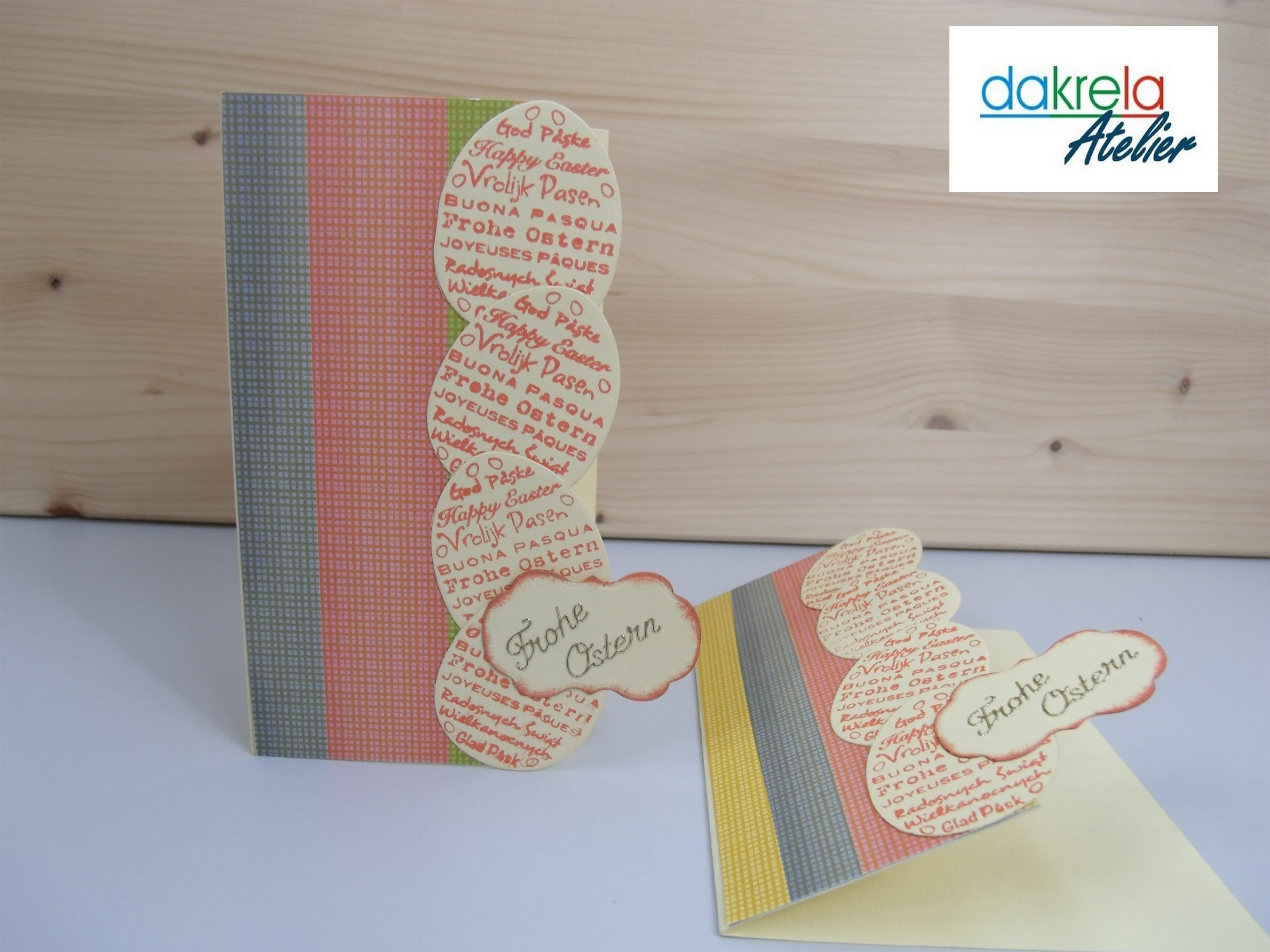 DIY schnelle Karte zu Ostern selber basteln - cardmaking