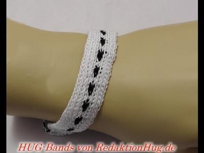 HUG-Bands Häkeln - Armband - Veronika Hug D