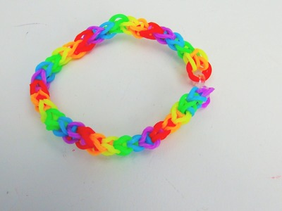 Loom Bandz Fishtail Gumdrop Bracelet. Armband with MonsterTail Anleitung | deutsch