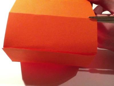 Windlicht basteln - Teelicht Schirm aus Pappe
