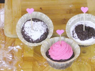 Backen Muttertag | Brownie Muffins | Cupcake Frosting Backen Tutorial | Eva backt für euch!