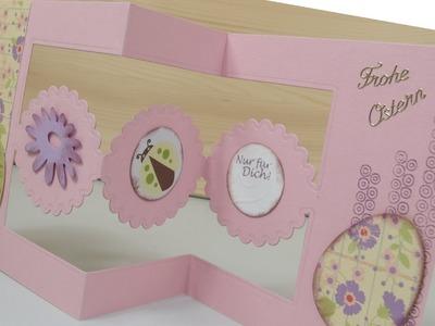 DIY: Klappkarte zu Ostern selber basteln - cardmaking