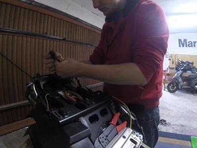 Motorrad Einbau Lastrelais Arbeitsrelais Zündungsplus DIY HowTo Tutorial
