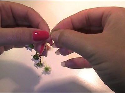 Anleitung und Vorlage - Gänseblumenkranz flechten