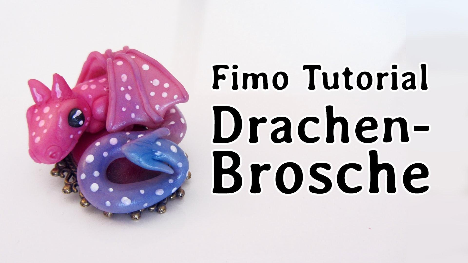 [Fimo-Tutorial] Drachen-Brosche