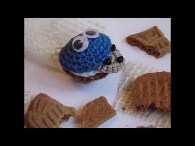 Häkeln Krümelmonster Muffin Häkelanleitung