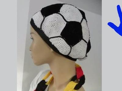 Häkeln - Mütze - Ball - WM - Deutschland - Weltmeisterschaft