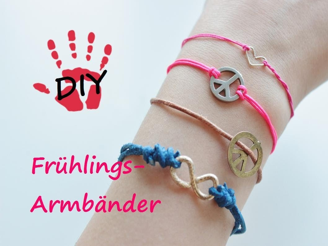 DIY- Armband Inspirationen. Knüpftechnik für Verschlüsse