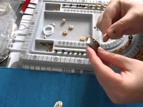 DIY-Knotenkette mit Naturnerlen (simple)