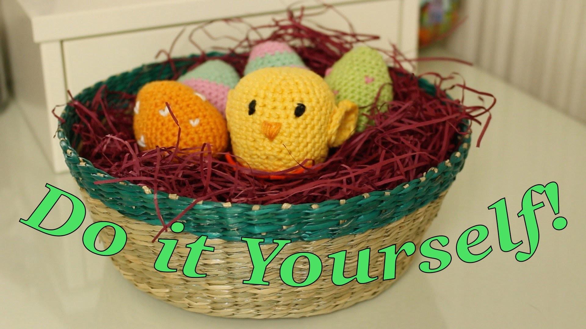 Küken Häkel-Anleitung *Vorbereitung für Ostern* Do it Yourself