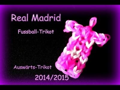 Rainbow Loom Real Madrid Auswärtstrikot 2014.15 Loom Bandz Bands Anleitung deutsch