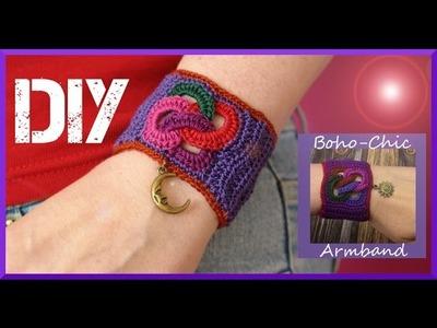 Schmuck selber machen: Boho-Chic Armband
