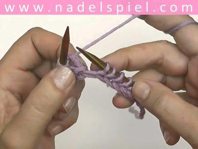 Stricken mit eliZZZa * Rechte Maschen für Linkshänder * Test