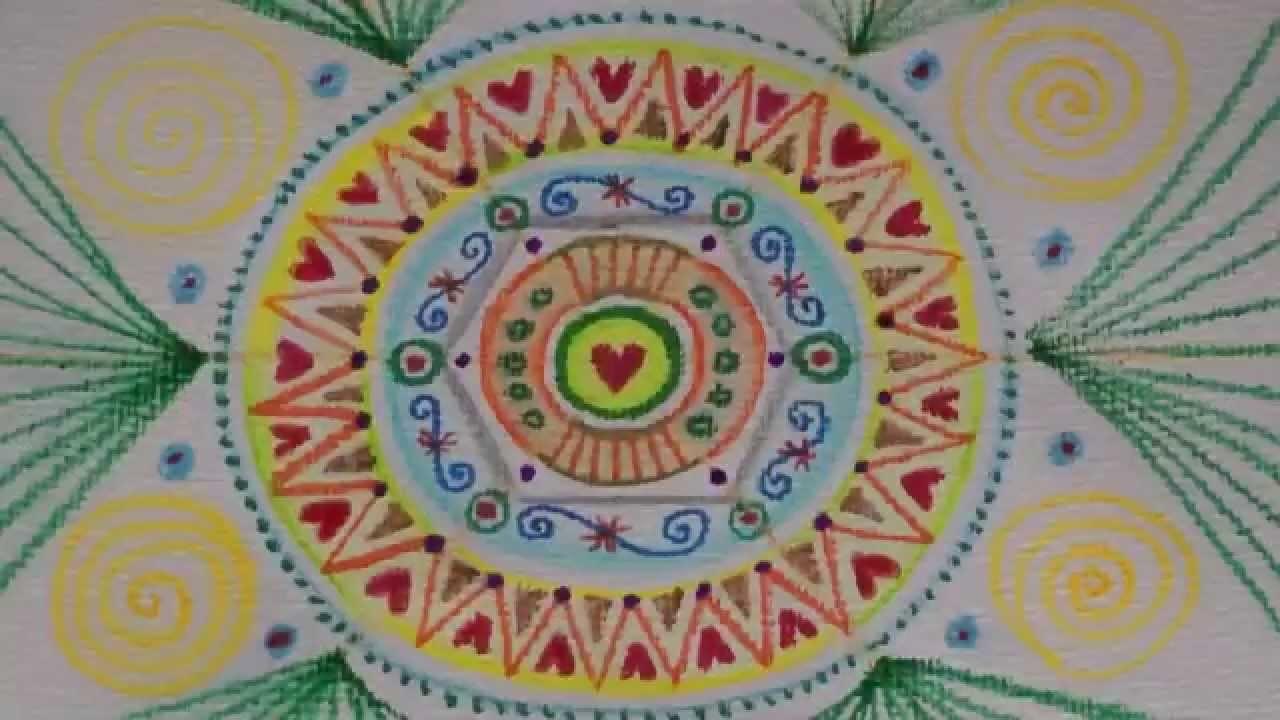 5 Mandalas in 9 Minuten :: Ulrike Hirsch