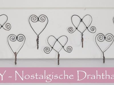 DIY- Nostalgische Haken aus Draht.Luffarslöjd.Schwedische  Drahtbiegekunst