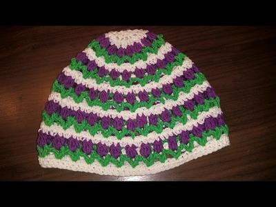 Häkeln - Tulpen Mütze