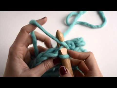 Häkeltechniken: Der Back Loop