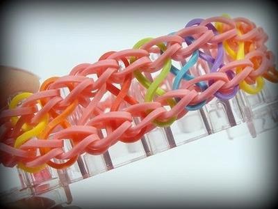 Loom Bands Infinity Armband mit Rainbow Loom (deutsche Anleitung)