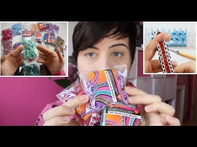 Neue Trend Looms! Textil Loombänder.für euch getest
