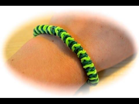 Rainbow Loom Raupen Armband (deutsche Anleitung)