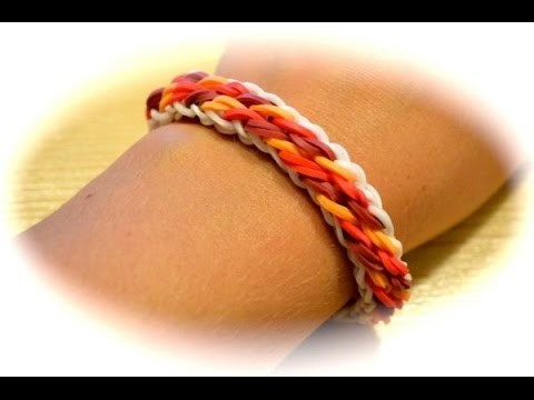 Rainbow Loom Wellen Armband (deutsche Anleitung)
