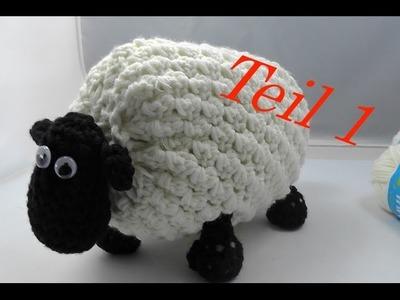 SHIRLEY von SHAUN das Schaf Häkeln mit Veronika Hug - Teil 1 Hufe