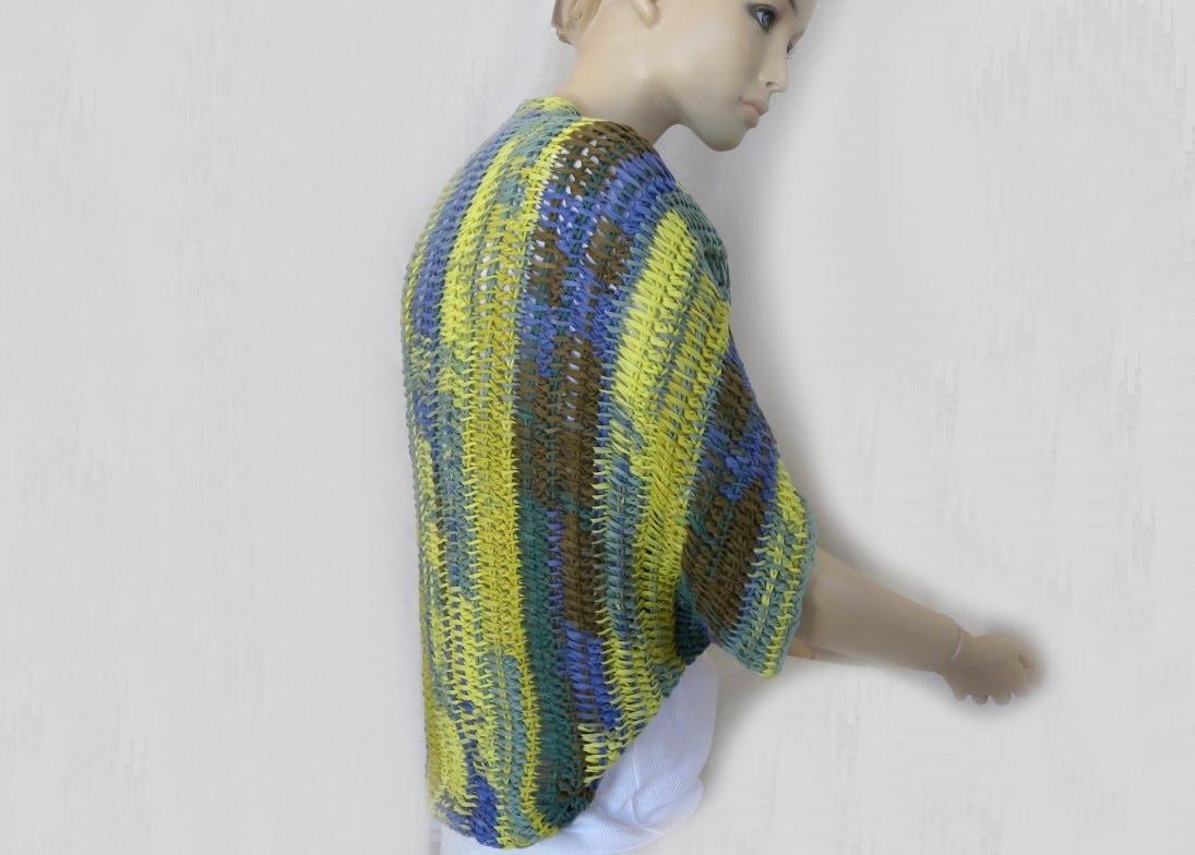 Tunesisch Häkeln Seelenwärmer ärmelschal Triest Woolly Hugs 08