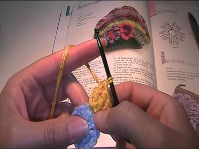 Anleitung und Vorlage - eine Baskenmütze häkeln