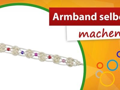 Armband selber machen   trendmarkt24 Bastelbedarf - Kindergeburtstag Bastelidee