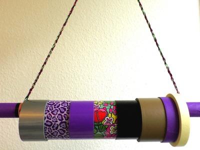 Aufbewahrungsstange selber machen - Aufbewahrungstipps für Duck Tape, Armbänder oder Ketten