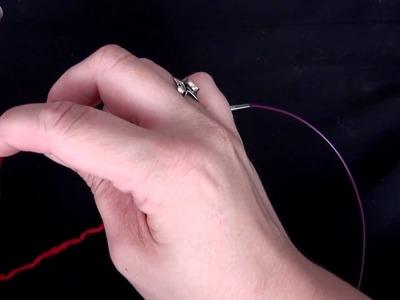 Crasy Basics Stricken  -  Maschen zunehmen mit Umschlag