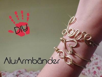 DIY Armbänder. Armcandy LOVE INFINITY HERZ Armband selbermachen