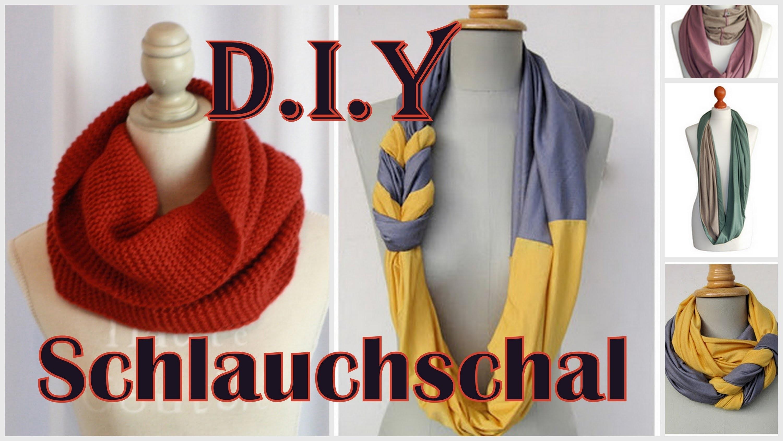 DIY Loop-Schal | 3 Varianten