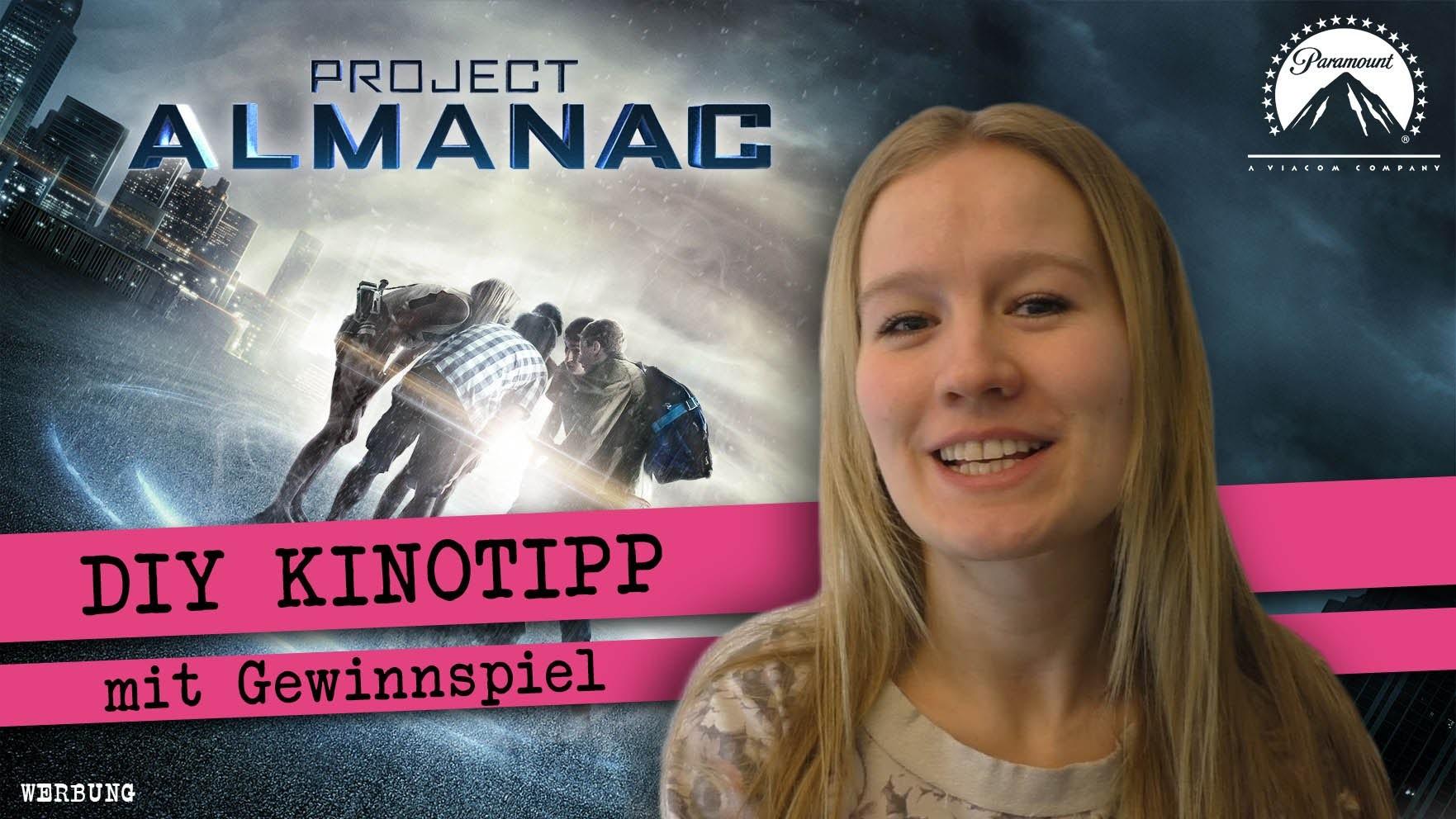 DIY zum Kinofilm PROJECT ALMANAC. DIY Freundschaftsband knüpfen und Trailer   deutsch