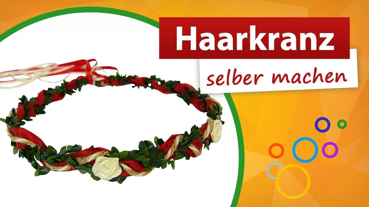 Haarkranz selber machen   Haarkranz Bastelanleitung - do it yourself   trendmarkt24