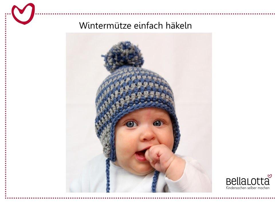 Häkelmütze Für Babys Einfach Häkeln Für Anfänger