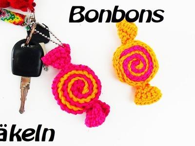 Häkeln Bonbon  - Anhänger - stylisch!