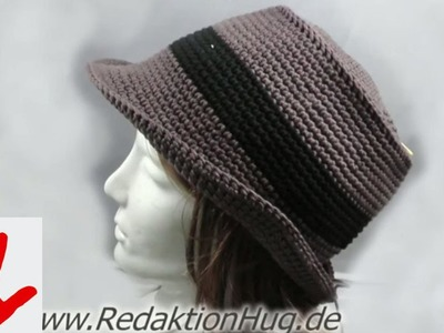 Häkeln - Linkshänder - Hut aus hatnut surf von Pro Lana
