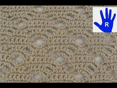 Häkeln - Rautenmuster - Material von Debbie Bliss