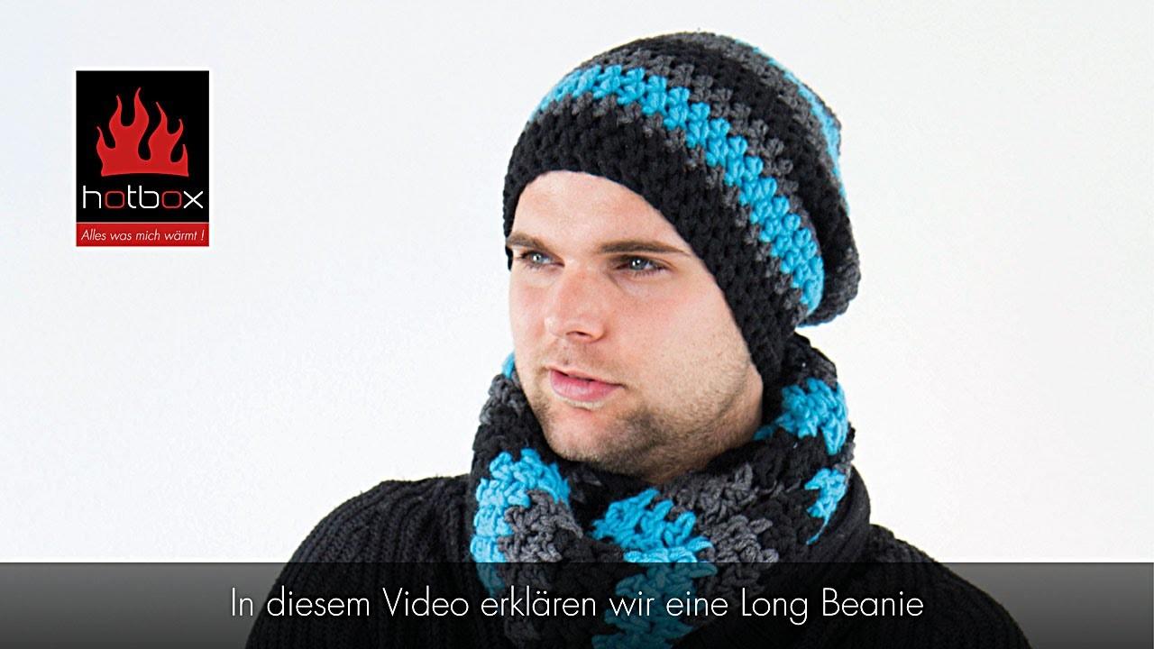 Hotbox Long Beanie (Fallhaube) - Türkis