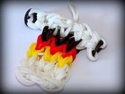 Loom Bands mit Rainbow Loom Deutschland Trikot WM Fussball (deutsche Anleitung)