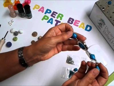 Papierperlen und was man damit machen kann.