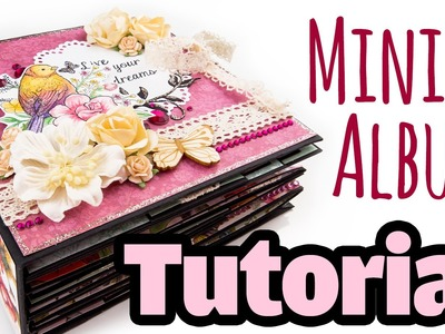 "[Scrapbook Tutorial] Mini-Album ""Bohemian"" 