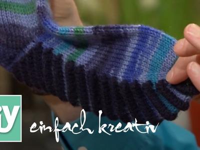 Socken stricken - Tipps und Tricks | DIY einfach kreativ