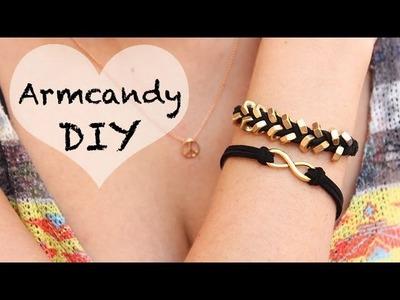 DIY: Arm Candy selber machen | Muttern-Armband knüpfen
