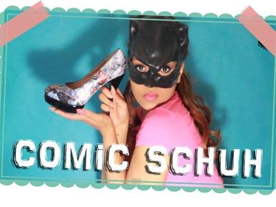 DIY | Comic Schuh
