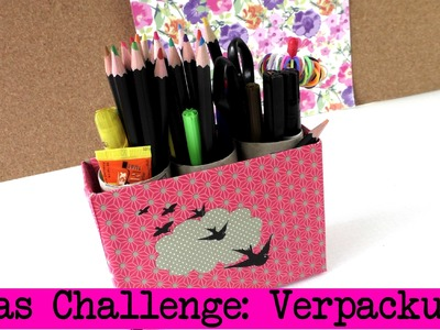 DIY Inspiration Challenge #12 Verpackung | Evas und Kathis Challenge | Do It Yourself Tutorial